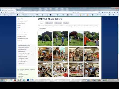 Drupal Video Demo: Creating Media (Photo) Galleries