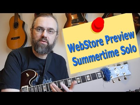WebStore Preview Summertime Solo Lesson
