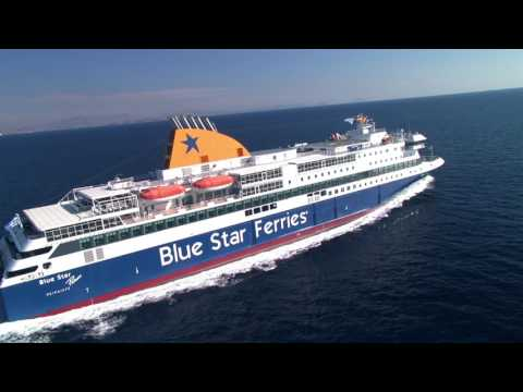 Blue Star Ferries - Σπίτι μας το Αιγαίο!