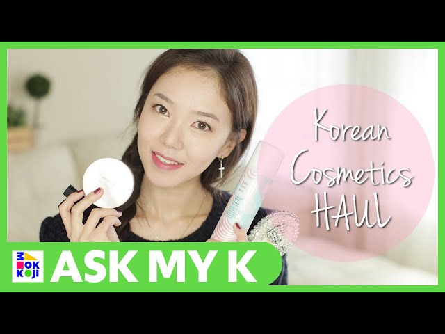 Ask My K : Beautifymeeh - Mini Korean Cosmetics HAUL ♥