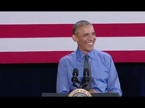 The President Speaks on the Economy in Detroit