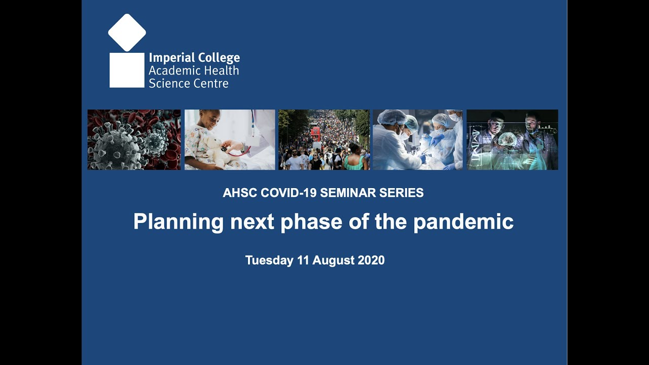 COVID-19 Planning the next phase of the pandemic - Professor Julian Redhead