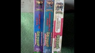 Черепахи Ниндзя - Обзор 3х Видеокассет VHS