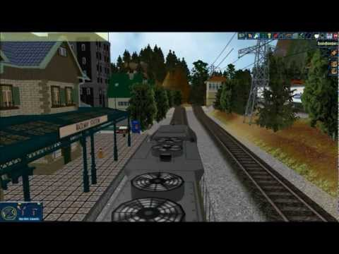 Model Railroad Train Simulation – Rule The Rail! Layout