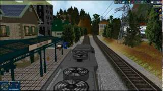 Model Railroad Simulation - Rule The Rail! Layout