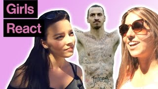 Girls React To Footballers' Tattoos
