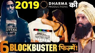 Karan Johar's Dharma Productions Much Awaited 6 BLOCKBUSTER Films