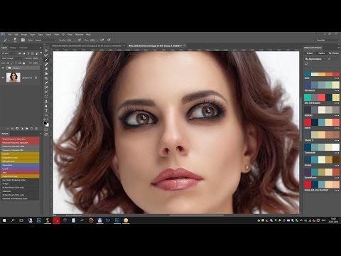Как правильно использовать плагин Portraiture