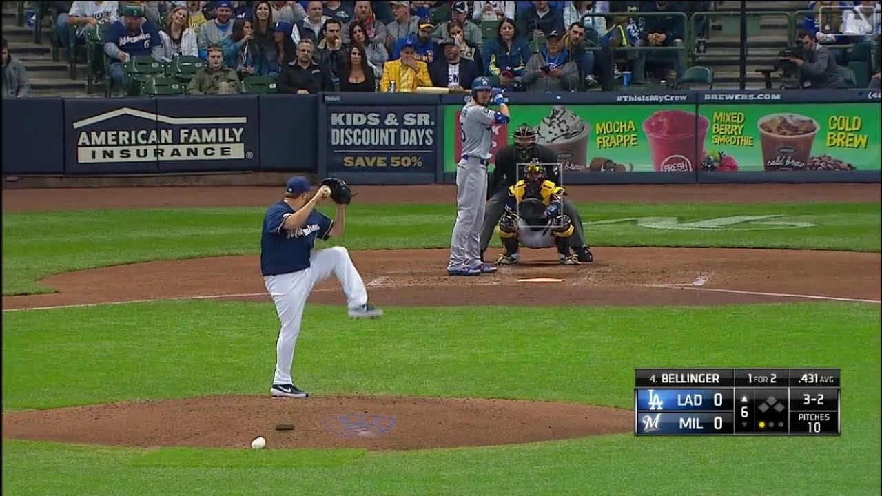 Dodgers vs Brewers Highlights | 4/18/19