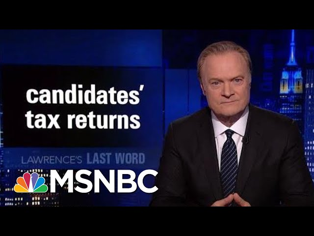 Lawrences Last Word: Candidates Tax Returns | The Last Word | MSNBC