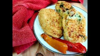 Зразы картофельные с сыром  Простейший пошаговый рецепт