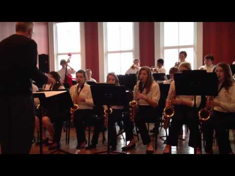 Byron Center West Middle School Jazz Band 2013