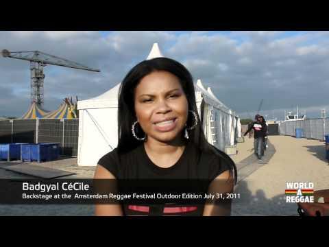 Badgyal Cécile Video Drop for worldareggae.com
