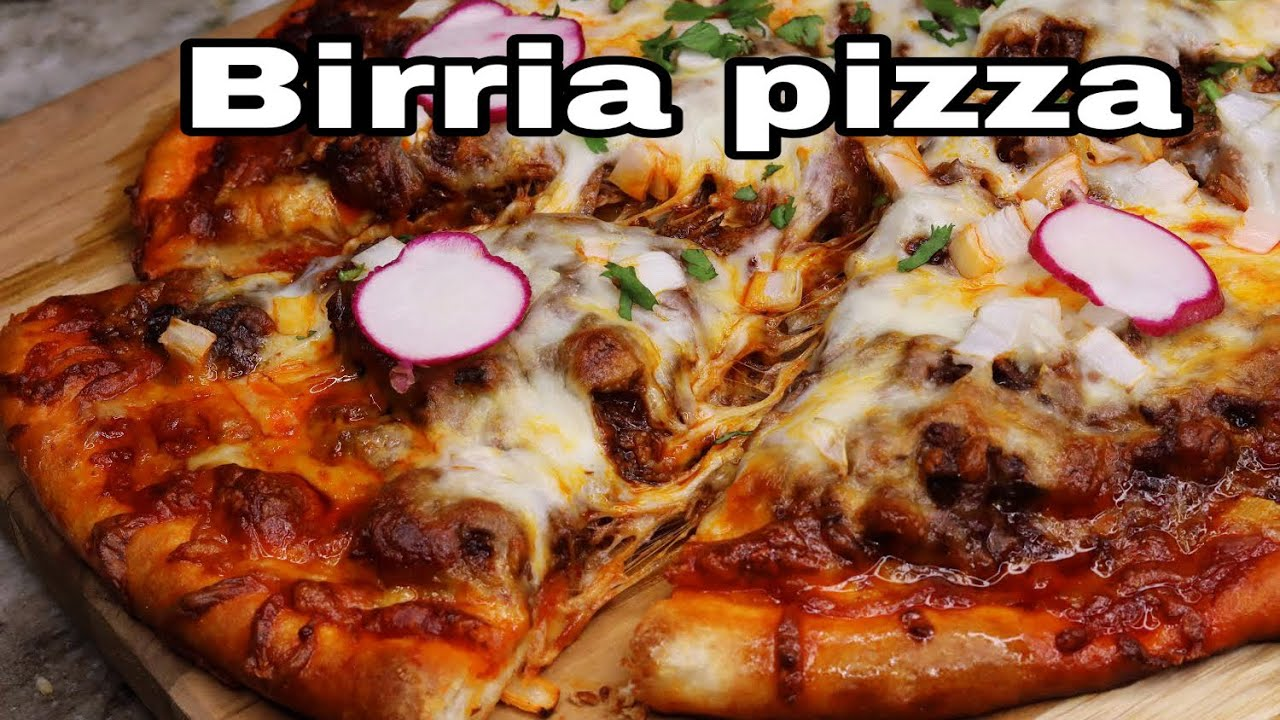 How To Make The BEST Birria Pizza| Better Than Birria Tacos?