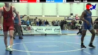 Bo Nickal vs. Mark Hall at 2013 FILA Cadet Nationals - FS