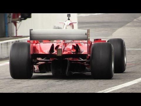 Ferrari F2004 F1 V10 ex Schumacher EXTREME Sound at Monza Circuit!!