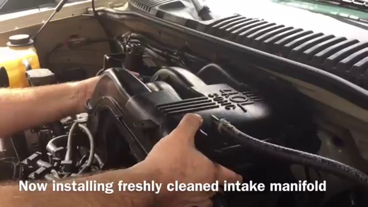 2003 Mustang Fuel Filter 98 Removal