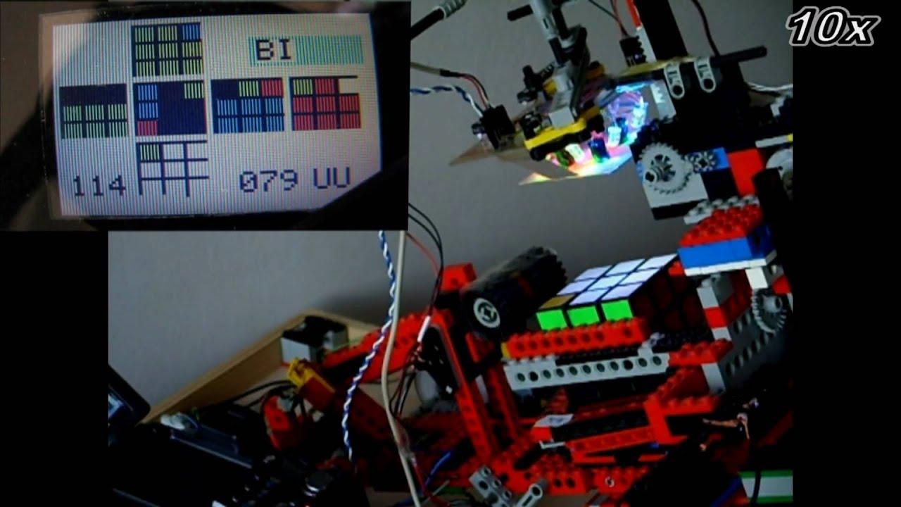 Lego Rubiks Cube Robot By Ruwixcom Youtube