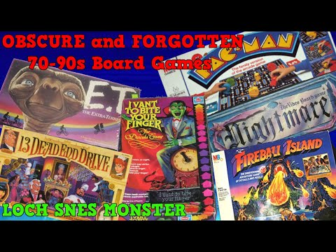 OBSCURE And FORGOTTEN BOARD GAMES|Commercials
