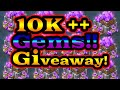 10k +++ Gems Giveaway!! 1000 Subscriber Video! Lords f2p trap.