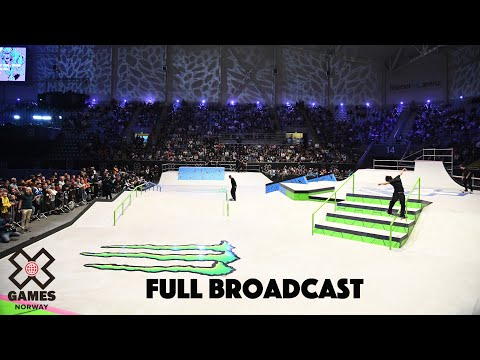 Monster Energy Men's Skateboard Street: FULL BROADCAST | X Games Norway 2019