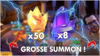 GROSSE SUMMON SESSION : 8 PIERRES LEGENDAIRES !! MMEG