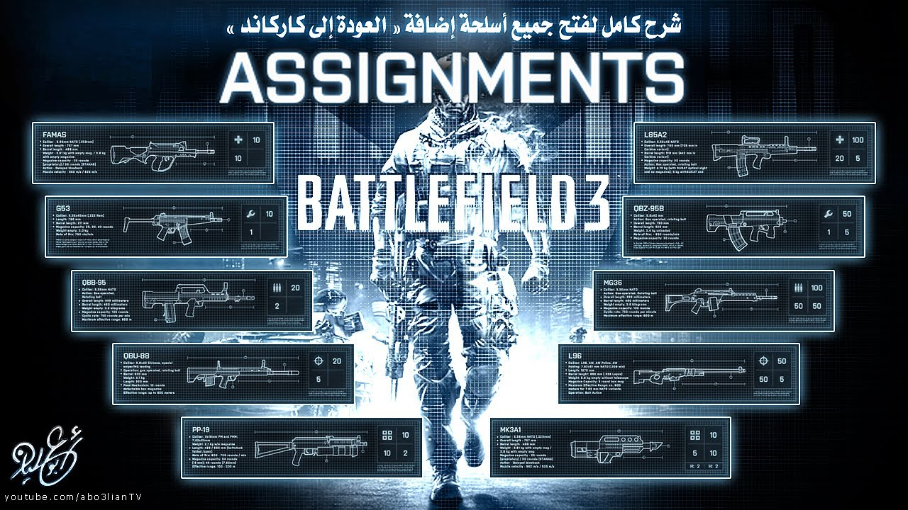 battlefield 3 assignments Just picked up bf 3 premium and got a ton of assignments left to complete or still got some left to achieve and having trouble getting those c4 kill or.