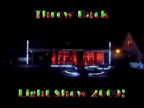 Christmas light display light o rama 2009