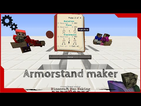 ArmorStand Maker Tool In Minecraft Vanilla
