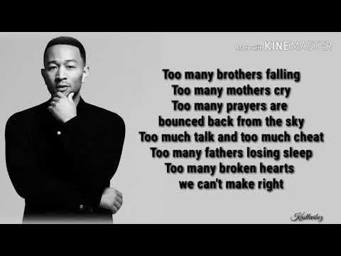John Legend - We Need Love (Lyrics)