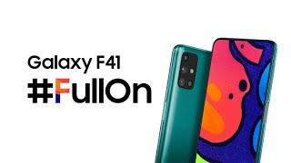 Introducing The Full On Galaxy F41 | Samsung