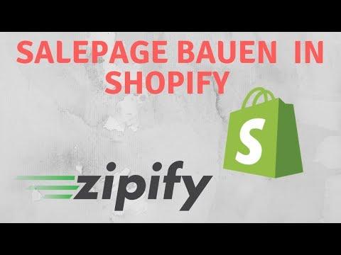 Dropshipping: Zipify Sales Page Tutorial thumbnail