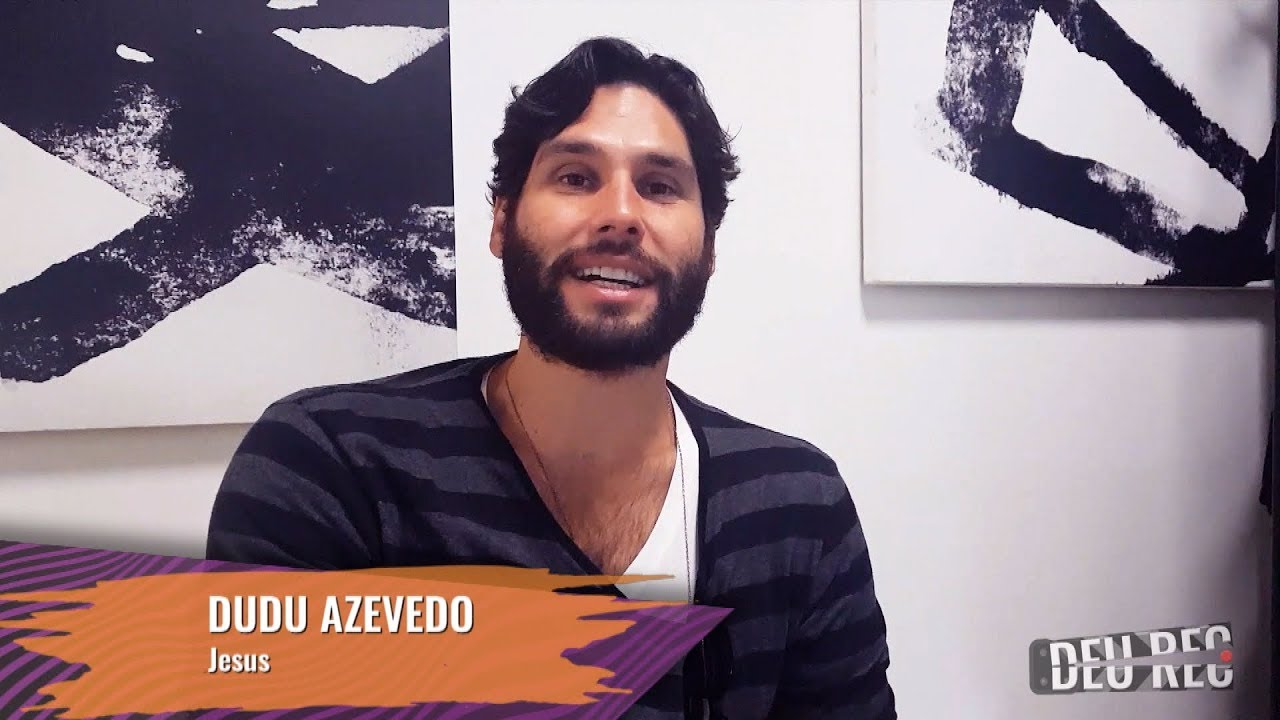 DEU REC | Dudu Azevedo fala sobre cena em que Jesus anda sobre as águas