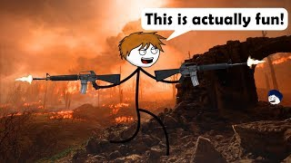 When a gamer goes to War