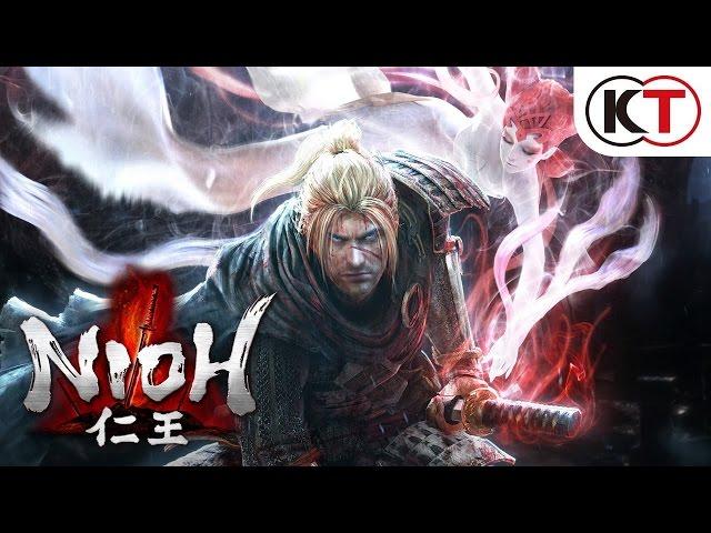 Nioh demo alpha gameplay