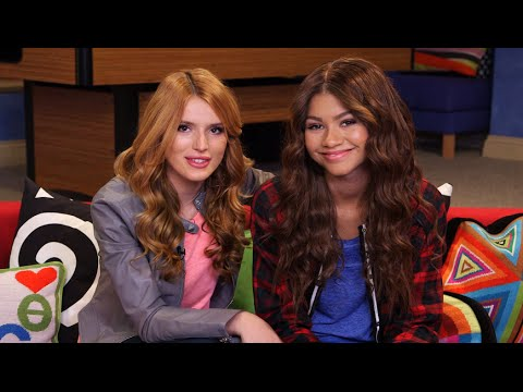 Zendaya and Bella Thorne Interview Each Other on the Set of K.C. Undercover