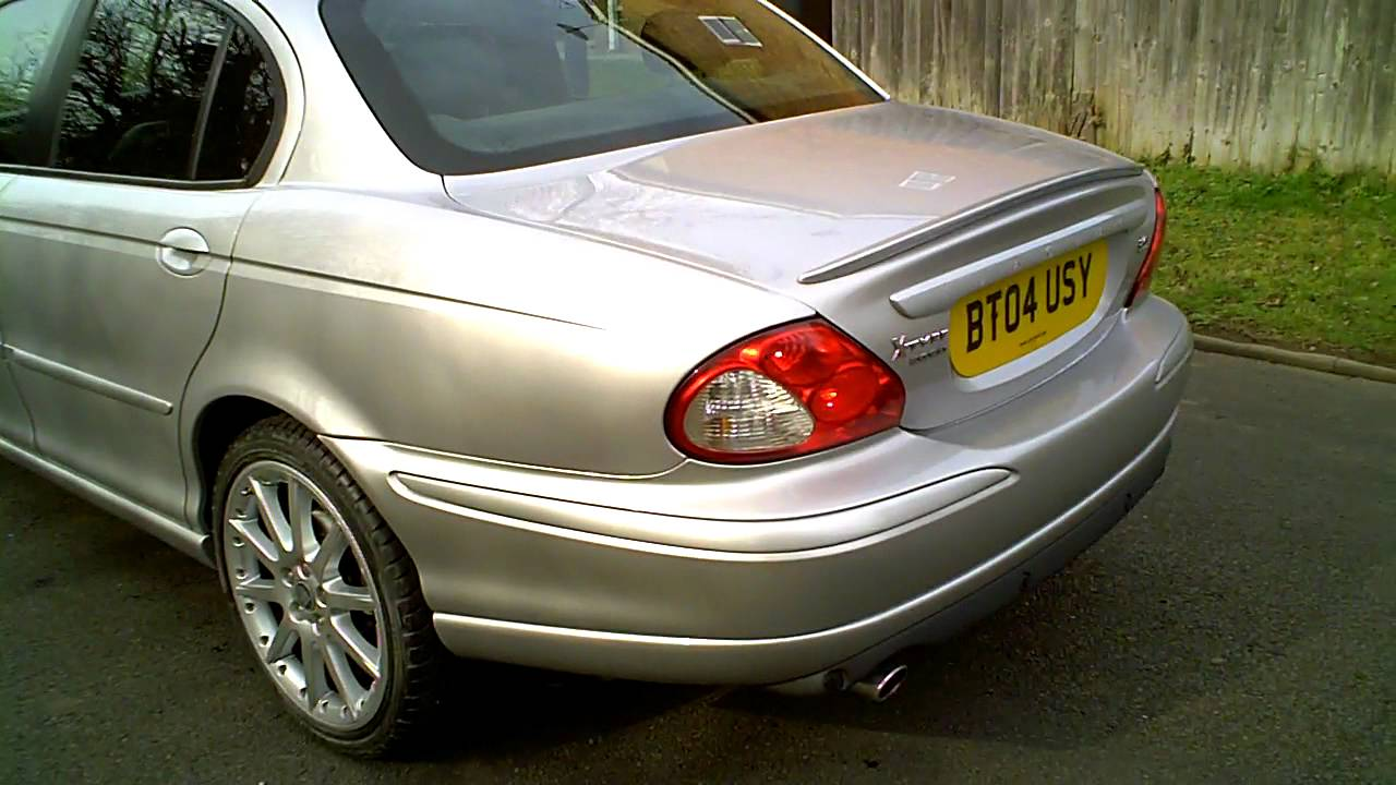 2004 jaguar x type 3 0 v6 se saloon auto silver mercland youtube. Black Bedroom Furniture Sets. Home Design Ideas