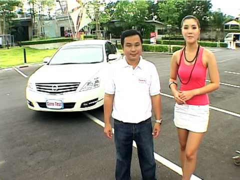 guru test car nissan teana video watch now. Black Bedroom Furniture Sets. Home Design Ideas