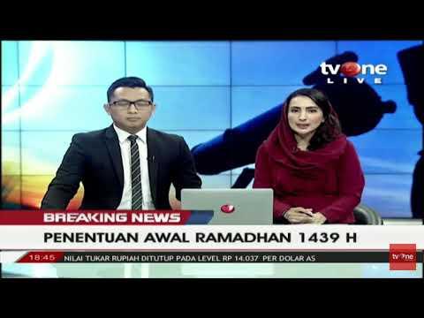 Hasil sidang itsbat Ramadhan 1439 H...live TVOne