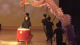 香港中國婦女會馮堯敬紀念中學25周年校慶【鼓舞飛龍】