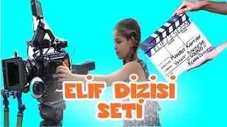 Elif Dizisi Yeni Sezon Dizi Seti | Isabella Damla Dizi Setini Gezdiriyor | Vlog