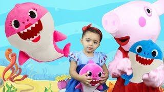 Baby Shark   Kids Song and Nursery Rhymes Sing and Dance with Leah's Play Time