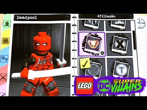 LEGO DC Super Villains #66 CRIANDO O DEADPOOL NO CRIADOR DE PERSONAGENS Dublado EXTRAS