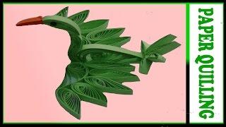 paper quilling :bird