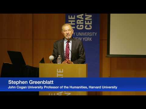 Stephen Greenblatt — Getting Real: The Rise and Fall of Adam and Eve