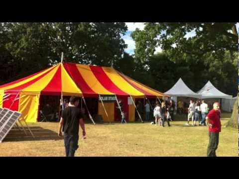 Marquee Hire: Red and Yellow 12x17.5m Bigtop rental in U.K. to hire from Bigtopmania