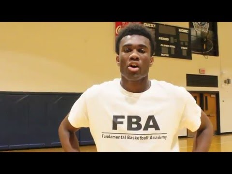 Anthony Carter 2016 Basketball Highlight