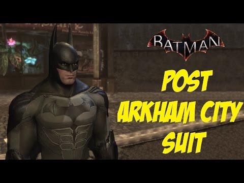 SKIN; Batman; Arkham City; v7.43 Bat-Suit