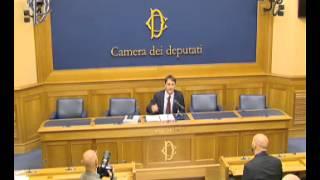 Roma - Protocollo farfalla - Conferenza stampa di Claudio Fava (30.09.14)