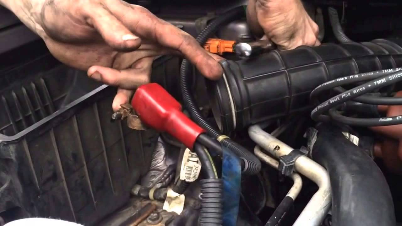 hight resolution of how to change starter 2000 honda accord 2 3 automatic
